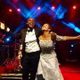 Fernanda Souza festejou o casamento com Thiaguinho: 'Toda minha gratidão a Ele que nos uniu!'