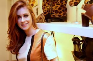 Marina Ruy Barbosa assume paixão por bolsas e sapatos: 'Ponto fraco'