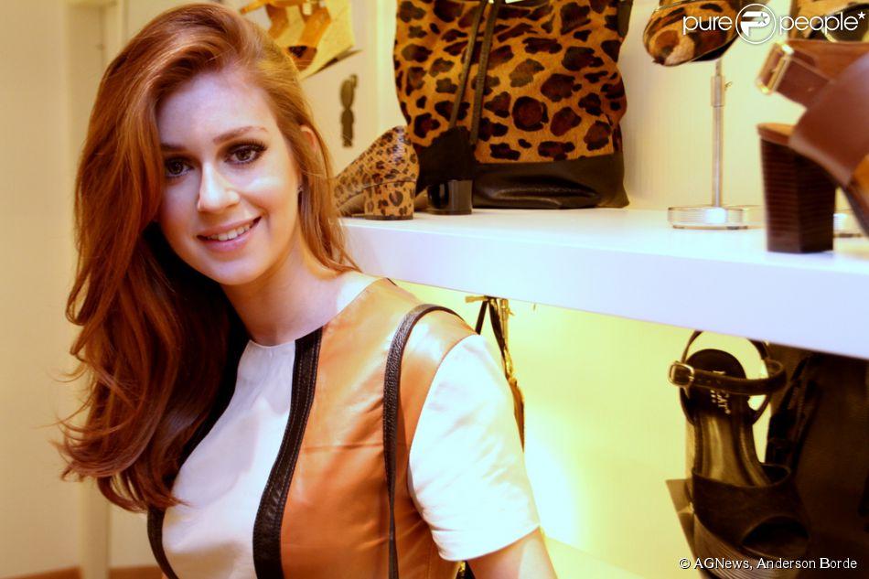 adf876888a0 Marina Ruy Barbosa assume paixão por bolsas e sapatos   Ponto fraco ...