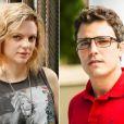 Maria Eduarda de Carvalho e Thiago Rodrigues vão interpretar irmãos gêmeos na novela 'Sete Vidas'
