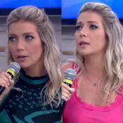 Luiza Possi surge de pijama para participar do 'Encontro': 'Muito à vontade'