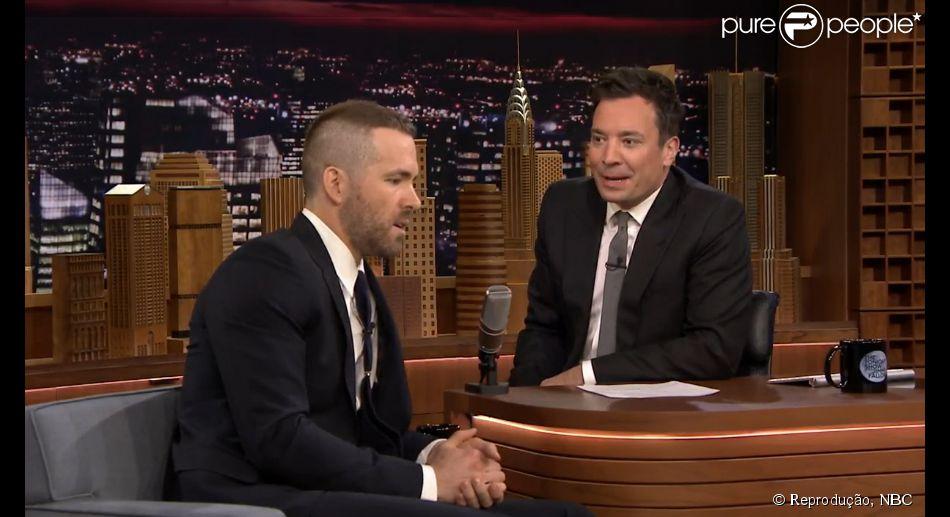 O ator declarou durante a entrevista que a filha com Blake Lively tem alergia a dormir