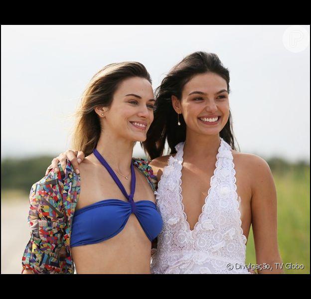 Vitória (Bianca Bin) salva a vida de Sandra (Isis Valverde) no último capítulo de 'Boogie Oogie', em 06 de março de 2015