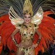 Paloma Bernardi se destacou no desfile da Grande Rio este ano. O sucesso foi tanto que ela foi convidada para ocupar o posto de rainha de bateria no Carnaval de 2016