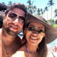 Solange Almeida Almeida é casada com o empresário Wagner Miau