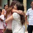Thalita Lippi e Bianca Bin se abraçam em clima de despedida de 'Guerra dos Sexos'