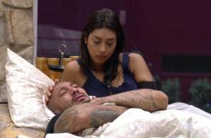 Fernando diz para Amanda no 'BBB15': 'Tenho pra dar o que você nunca recebeu'