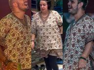 'BBB15': Fernando e Adrilles usam bata de Mariza. Quem vestiu o look melhor?
