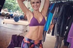 Eliana ensina a manter a boa forma após os 40: 'Comer menos e malhar mais'