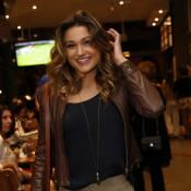 Sasha e a namorada de Luciano Szafir vão a estreia de peça do ator no Rio