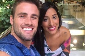 Pai de Rafael Licks, do 'BBB15', elogia Talita após criticar namoro: 'Bem legal'