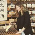 Drew Barrymore posta foto no Japão: 'Uma reza para minhas filhas'