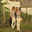 Dublê de Flávia Alessandra fica atrás da atriz