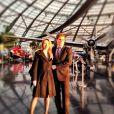Edson Celulari e namorada, Karen Roepke, curtem Nova York