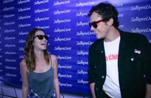 Lollapalooza: Nathalia Dill e Sergio Guizé vão juntos ao festival de música