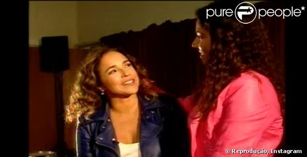 Malu Verçosa dá depoimento sobre Daniela Mercury em entrevista, em 8 de maio de 2013