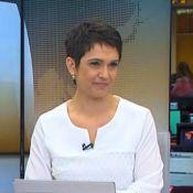 Sandra Annenberg chora no 'Jornal Hoje' ao comentar morte de Beatriz Thielmann