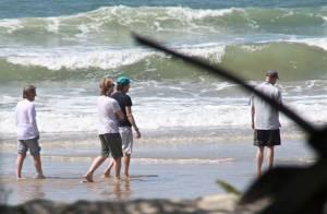 Paul McCartney curte dia de folga da turnê em praia da Bahia