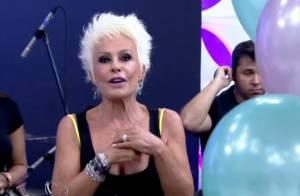 Ana Maria Braga ganha bolo de aniversário durante 'Mais Você': 'Linda homenagem'