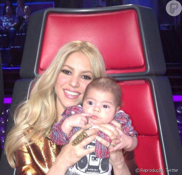 Shakira deu uma entrevista falando que não se sentia nada sexy após dar à luz Milan, seu primeiro filho com o jogador de futebol Gerard Piqué, nesta sexta-feira, 10 de maio de 2013