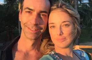 Ticiane Pinheiro viaja com o namorado, Cesar Tralli, para a Bahia: 'Minha vida'