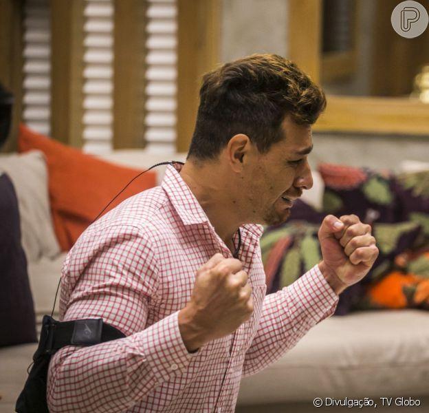 'BBB15': Cézar vence o reality show e leva prêmio de R$ 1,5 milhão nesta terça-feira (8 de abril de 2015)