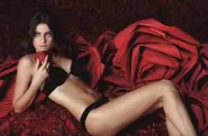 Mãe de dois filhos, Isabeli Fontana exibe corpão em ensaio de lingerie