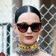 Katy Perry também esteve no  festival de música  Coachella, nos Estados Unidos