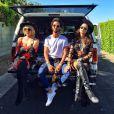 Thaila Ayala curtiu o festival de música Coachella, na Califórnia, nos Estados Unidos, neste domingo, 12 de abril de 2015