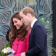 Kate Middleton foi ao espaço Stephen Lawrence Centre Deptford, em Londres, na Inglaterra, no último evento oficial antes da chegada do segundo herdeiro