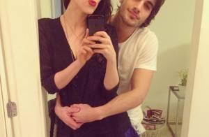 Sophia e Fiuk posam juntos de cabeça raspada, e a atriz se declara: 'Te amo'