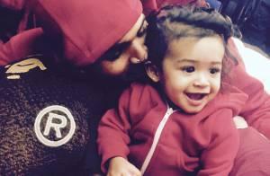 Chris Brown apresenta filha de dez meses no Instagram: 'Um pedaço de mim'