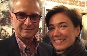 Lilia Cabral festeja aniversário de casamento em Nova York: 'Celebrando 20 anos'