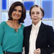 Fátima Bernardes brinca ao atuar com Fernanda Montenegro: 'Vou pôr no currículo'
