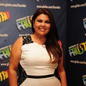 Marido de Fabiana Karla espera que ela não emagreça muito no 'Medida Certa'