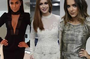 Anitta, Marina Ruy Barbosa e os looks dos famosos na festa de 50 anos da Globo
