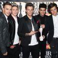 O One Direction é uma banda formada no programa 'The X Factor' em sua versão britânica