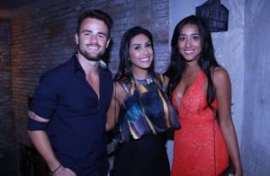 Amanda reencontra Talita e Rafael na festa de aniversário do ex-BBB: 'Saudade'