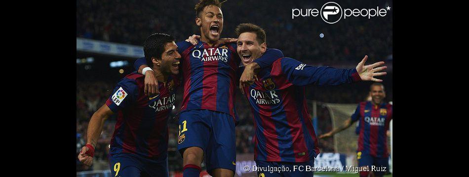 Neymar marca gol na vitória Barcelona de 6 a 0 contra o Getafe e brasileiro se iguala a Ronaldo com quantidade de finalizações marcadas no time espanhol, nesta terça-feira, 28 de abril de 2015
