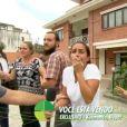 Carol Barcellos, da TV Globo, também levou um susto enquanto entrevistava um casal no Nepal. No momento da entrevista, todos foram surpreendidos por um tremor