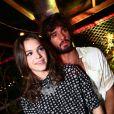 Bruna Marquezine e Marlon Teixeira estavam juntos desde o fim de 2014. Em eventos, o casal sempre aparecia trocando carinhos