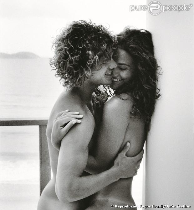 Débora Nascimento e José Loreto posam sem roupa para a revista 'Vogue Brasil' de junho de 2013