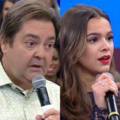 Faustão dispara sobre Bruna Marquezine no 'Domingão': 'Não era tão bonita'