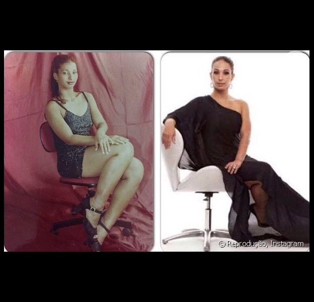 Valesca Popozuda mostra antes e depois da fama em foto no Instagram