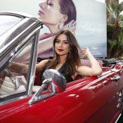 Thaila Ayala vai ao último dia do Festival de Cannes a bordo de um conversível