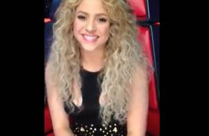 Shakira grava vídeo para Xuxa, exibido no telão da festa de 50 anos da loira