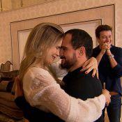 Luciano Camargo mostra mansão e ganha declaração de amor da mulher: 'Eterno'