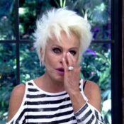 Ana Maria Braga chora com entrevista de Luciano Huck e Angélica: 'Emocionada'