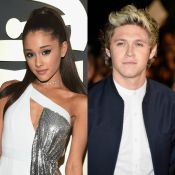 Ariana Grande deixa casa de Niall Horan, do One Direction, de madrugada