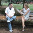 Cássio Gabus Mendes deu uma entrevista para a apresentadora Angélica em 2011, celebrando 30 anos de carreira